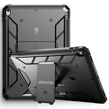 For Apple iPad Pro 10.5 Case w/ Kickstand [360° Protection] Black Cover