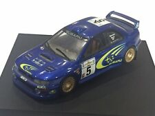 "1/43 TROFEU 1112 SUBARU IMPREZA WRC ACROPOLIS RALLY 1999 RICHARD BURNS ""DAMAGED"""