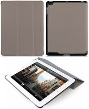 MACALLY TAUPE BEIGE BOOKSTAND CASE COVER STAND FOR APPLE iPAD 2nd 3rd 4th GEN
