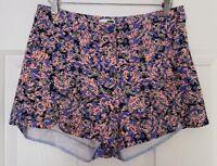 Ladies size 10-12 High Waist Short Shorts - Rumor Boutique
