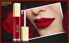 MILANI Amore ( 14 DEVOTION ) Velvety Matte Lip Creme - Lipstick,Dark Red, VEGAN