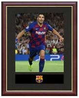 Luis Suarez Mounted Framed & Glazed Memorabilia Gift Football Soccer