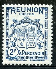 TIMBRES COLONIES FRANCAISES  / LA REUNION / BLASON / ARMOIRIE / TAXE N° 24 **
