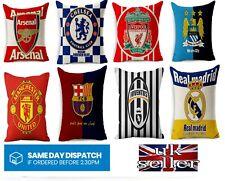 Football Teams Digital Print Cushion Covers Soccer Fan Birthday Gift