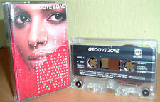 GROOVE ZONE-Jazz - LEE RITENOUR, DAVE WECKL uva © Star GRP Rec. MC TAPE CASSETTE