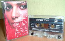 GROOVE ZONE-Jazz - LEE RITENOUR, DAVE WECKL uva © Star GRP Rec. MC TAPE CASSETTE