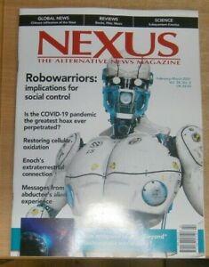 Nexus magazine Feb/Mar 2021 Robowarriors: Implications for social control +Virus