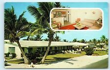 *Del-Barry Apartment Motel 411 NE 20th Ave Deerfield Beach Florida Postcard C19