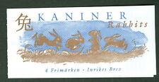 SWEDEN (H504) Scott 2326a, Rabbits booklet, VF