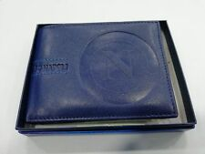 Portafogli uomo SSC NAPOLI vera pelle porta spiccioli documenti carta d'identità