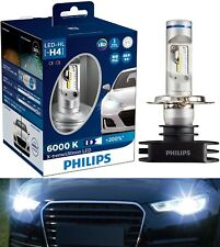 Philips X-Treme Ultinon LED 6000K White H4 Two Bulb Head Light Dual Beam Upgrade