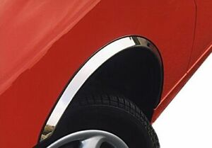 KIA CLARUS wheel arch trims 4 pcs CHROME front rear wing styling kit 1995-2001