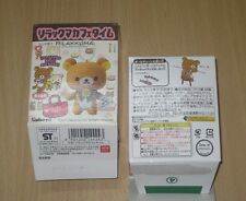 Kabaya Rilakkuma Cafe Time Charms Plush Doll Key Chain Full Set of 4pcs 2011