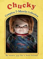 Chucky: The Complete Child's Play 7 Movie Collection (7 Disc) DVD NEW