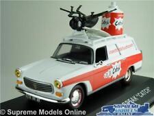 PEUGEOT 404 BREAK CATCH MODEL VAN CAR 1:43 SCALE IXO ESTATE WHITE & RED K8