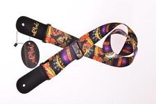 RockYou Guitar Strap Goth Design Acoustic Electric Bass Adjustable Nylon Woven