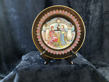 """The Mistress of Copper Mountain Presenting Katya with the Malachite Box"" Plate"