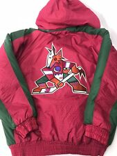 Vintage Logo Athletic Phoenix Coyotes Jacket Starter XL