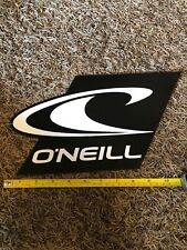 O'Neill Sticker Wetsuits Surfboards Clothing Wave Logo Black Vintage Surfing 10�
