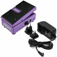 AMT Electronics WH-1 Japanese Girl Wah Pedal (B-Stock) Bundle w/ Power Supply