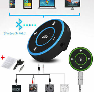 3.5mm Wireless Bluetooth AUX Music Car Receiver Stereo Adapter NYPR@ GREEN A36