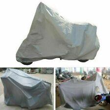 Motorcycle Motorbike Silver Scooter Anti Rain Cover Waterproof Dust UV Protector