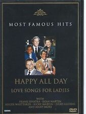 HAPPY ALL DAY- LOVE SONGS FOR LADIES- SINATRA DVD - FREE POST IN UK