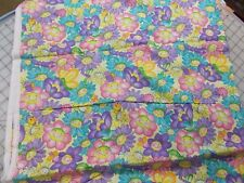 ® SUNNY BUGS Daisy Kingdom Fabric_All-Over ©DEWBERRY_Springs Ind._2 1/2 yards