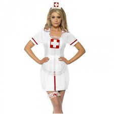 Donna Naughty Nurse Costume Set Sexy Uniforme GALLINA KIT (nessun ABITO)