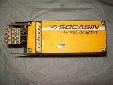 Socapel Socasin STI 16.310 3 Sinus Power 16-310 AC Servo Drive Tested Good.