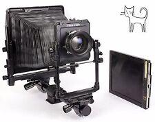 Toyo 8X10 G 810G BLACK camera with Rodenstock Sironar 300mm F5.6 + holder