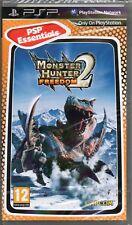MONSTER HUNTER FREEDOM 2 GAME PSP ~ NEW / SEALED