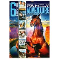 6 Movies: Family Adventure, Vol. 3 (DVD, 2013, 2-Disc Set) Ships in 12 hours!!!