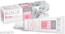 Toothpaste R.O.C.S. PRO BABY ROCS Oral Care