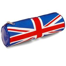 NEW PATRIOTIC BRITISH UK ENGLAND UNION JACK COSMETIC BAG PVC PENCIL CASE #BAG306