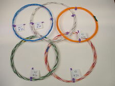 32 30 28 26 24 AWG Silver Plated PTFE Wire Assortment  50 feet