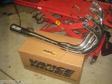 Suzuki GSX1100 ET/EX Vance + Hines Chrome Pro Exhaust