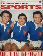 Le miroir des sports n°1225 - 1968 - Camberabero - Cardiff - Nancy Greene -