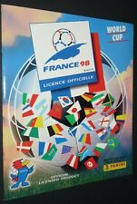 ALBUM PANINI FOOTBALL FIFA WORLD CUP FRANCE 98 COUPE MONDE 1998 VIERGE NEUF