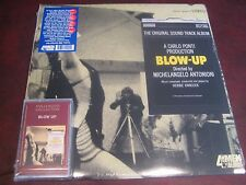 BLOW UP SOUNDTRACK HANCOCK YARDBIRDS 2002 AUDIOPHILE 180 GRAM LP + CASSETTE SET