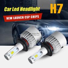 2X H7 252W 25200LM PHILIPS LED Headlight Blubs Kit 6500K White Power Car Light