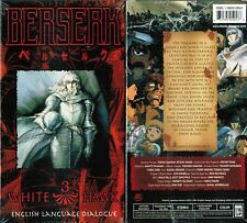 Berserk Vol 3 White Hawk Anime VHS Video Tape New English Dubbed