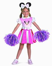MINNIE MOUSE CHEERLEADER GIRLS HALLOWEEN COSTUME TODDLER SIZE 3T-4T