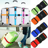 Adjustable Combination Luggage Suitcase Straps Belt Travel Baggage Tie Down Lock