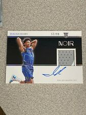 2019/20 - Panini Noir - Isaiah Roby / Rookie Patch Auto Card  #57/99