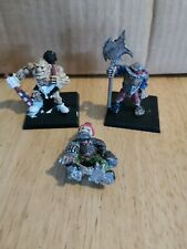 Vintage Warhammer Realm Of Chaos Ogre Marauder Bundle Oldhammer painted games