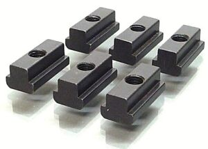 OREX   6 Muttern für T-Nuten lang,M10 für 12mm T-Nute,T-Nutenstein,Spannpratzen
