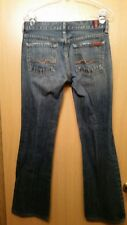 7 Seven For All Mankind Womens size 26 Kimmie Bootcut Medium/Dark Wash Jeans X30