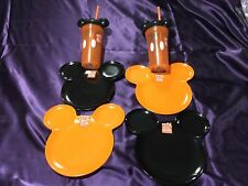 ZAK! DESIGNS ~ Mixed Lot Of 6~ MICKEY MOUSE Head Toddler Plates & Cups ~ NWT~
