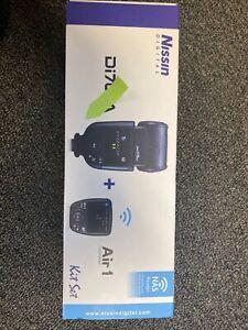 NISSIN Di700A Flash + Air 1 (Sony, Fuji, Olympus & Panasonic)